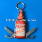 Beer Shape Multifunction classic Pocket Knife