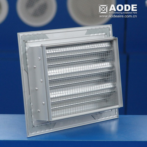 Aluminium Weather Air Louvers For Hvac System And Air