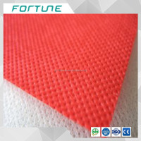 China high quality spunlace colored100% pp non woven fabric