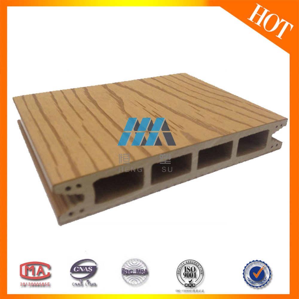 2018 new design outdoor solid fire resistant board wpc for Outdoor decking boards