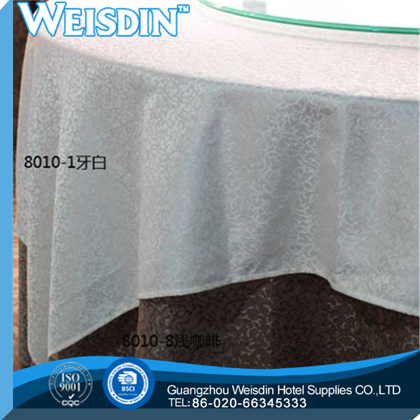woven made in China embroidered Twill super quality rubber table cloth