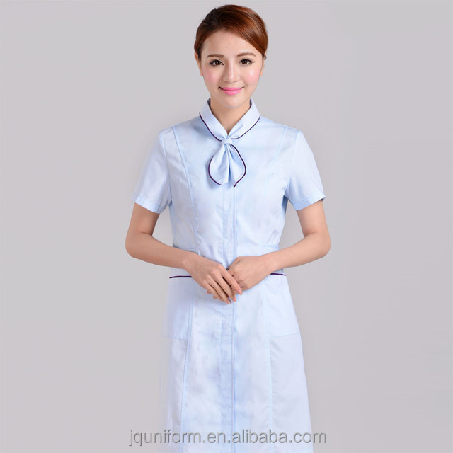 China schoonheidssalon uniformen kapsalon uniformen 100 for Spa uniform indonesia