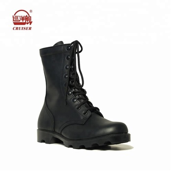 black leather American style army