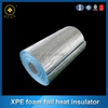 Ceiling aluminum foil foam heat insulation acoustic isolation / Closed cell polyethylene foam with aluminum foil