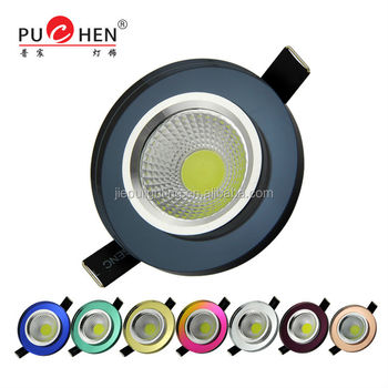 Pujiang Professionelle Brauch Hochwertige Haus Kristall Cob  Deckenbeleuchtung Spot Lampe 3w 220v Modell Bs107 E