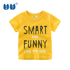 New Fashion Design Kids Summer Clothing Wholesale Boys Short Sleeve T-Shirt