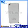Mobile phone spare parts for iphone 4 back cover case