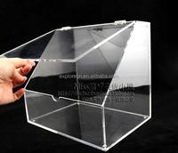 OEM clear acrylic shoe box acrylic display case