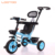 China factory supply hot sale cheap price parent push handle EVA tire baby tricycles for 2 year olds
