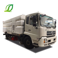 Dongfeng 4x2 190HP Washing Sweeper Truck Street Sweeping Truck Road Sweeper