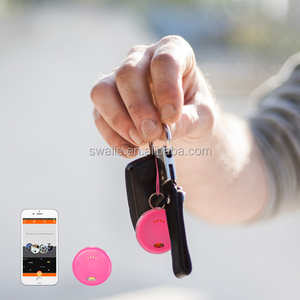 mini round style chipolo tag security anti lost bag key finder