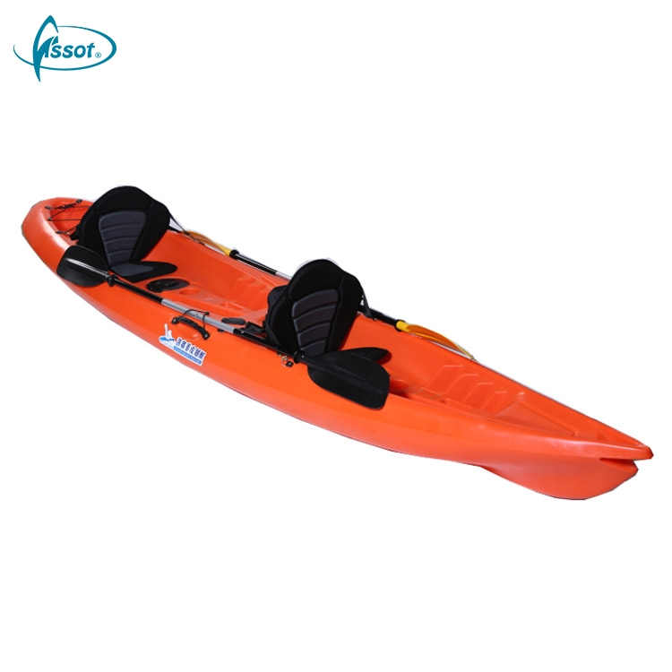 CE Rohs standard fast PE kayak, PE vietnam kayak, best PE sea kayaks for beginners