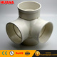 upvc drainage pipe cross 4 way tee pvc fitting