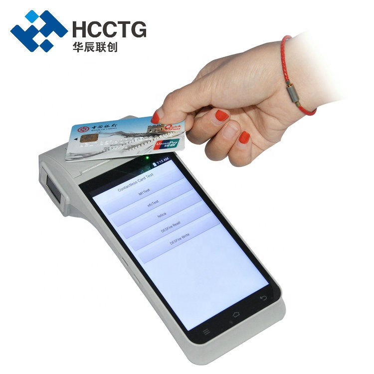 Handheld 4G Wifi NFC Smart Android Mobile POS Device HCC-Z91