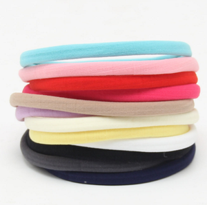 Nylon Elastic spandex Headbands Color Nude B328