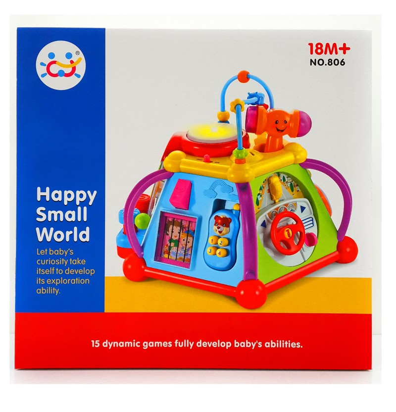2016 Huile kid musical activity center toys with light