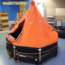 Inflation/life portable self inflating life inflatable raft liferaft