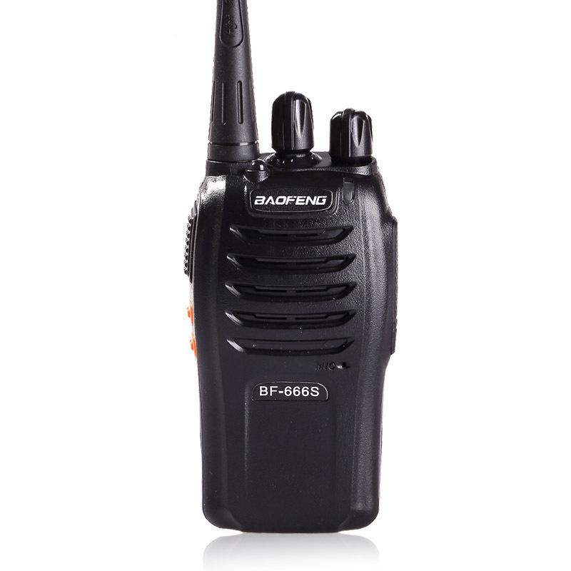 O melhor BF-666S baofeng rádio cb profissional de longa distância walkie talkie UHF 400-470 Mhz rádio transceptor hf