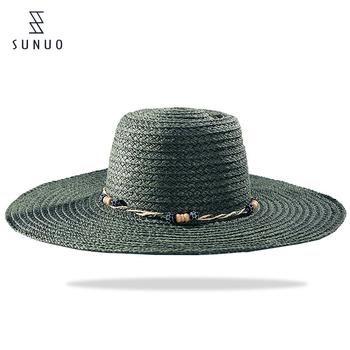 f7da7e7bf21da Custom Lady Black Paper Weaving Mexican Wide Brim Straw Hat - Buy ...