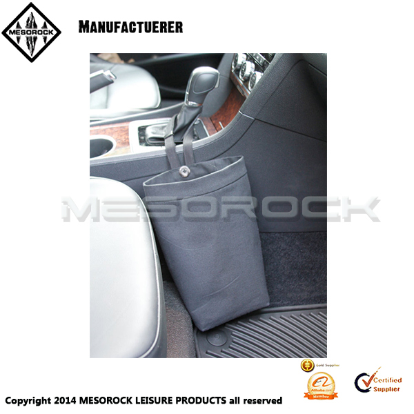 Small Car Trash Bag Black Litter Auto