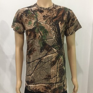 hunting clothes China wholesale blank camo t shirts