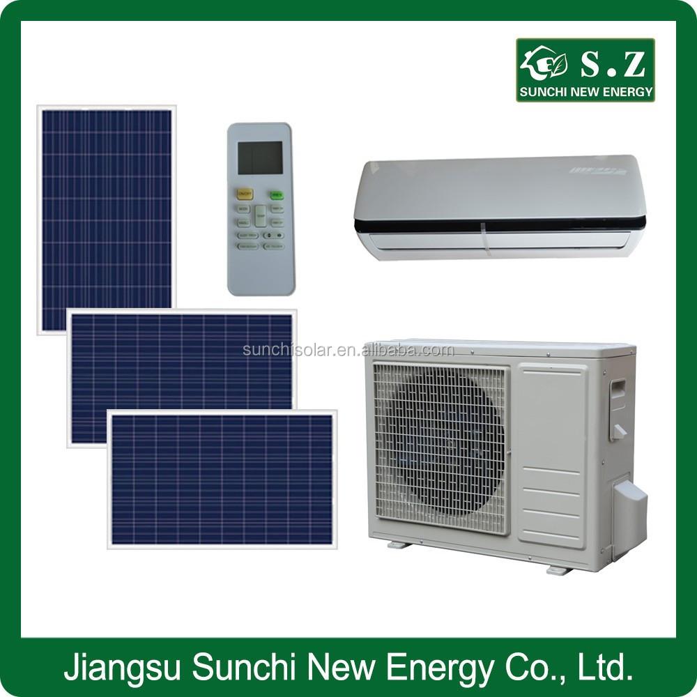 Acdc Hybrid Room Wall Split Cooling & Heating Lowest Cost Solar 9000 Btu  12000 Btu Air Conditioner - Buy Btu Air Conditioner,9000 Btu 12000 Btu Air