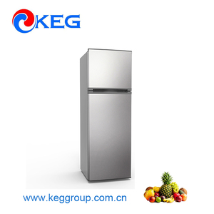248L Double Door Low Power Consumption Home No frost Refrigerator