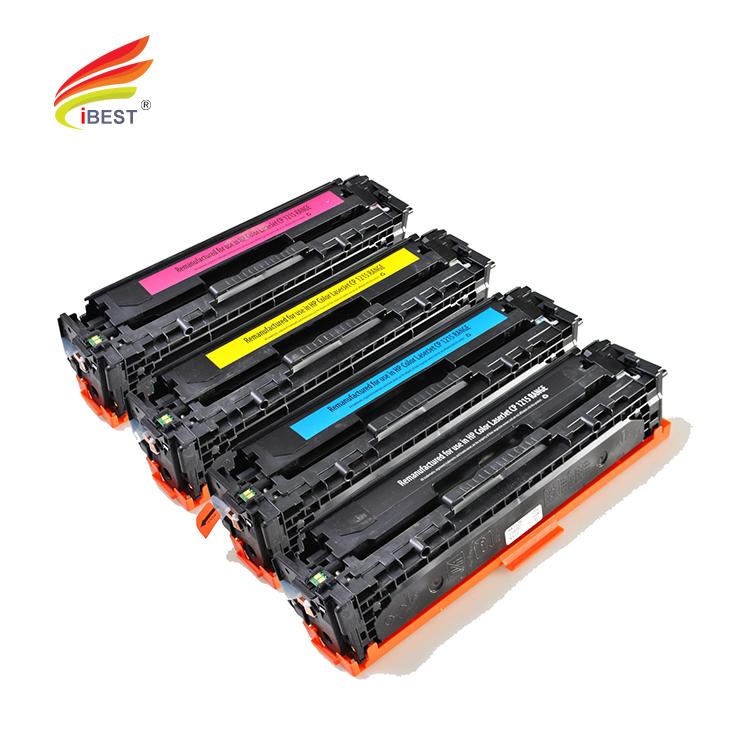 Virgin Used HP LaserJet 128A Black Toner Cartridges CE320A