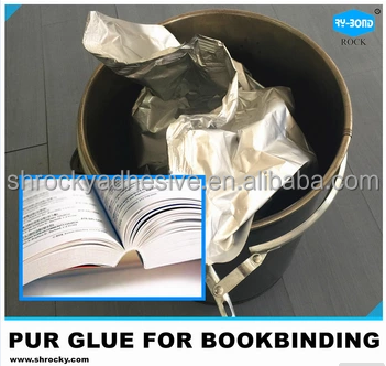 PUR Reactive polyurethane book binding machine hot melt glue