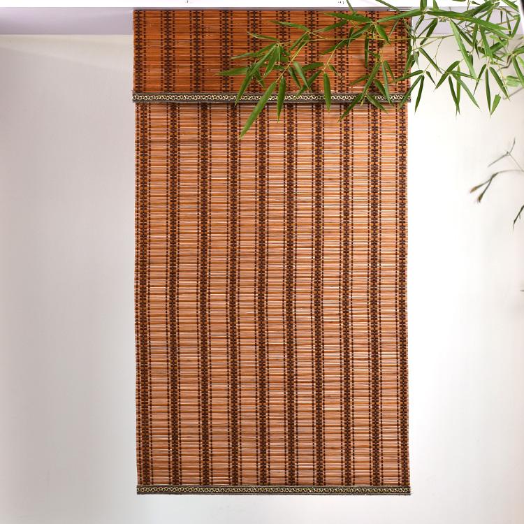символикой страны шторы из бамбука с картинками понравилась