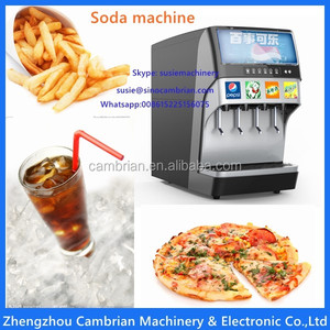 Saudi Abrbia hot selling post mix soda fountain machine with 220V plug