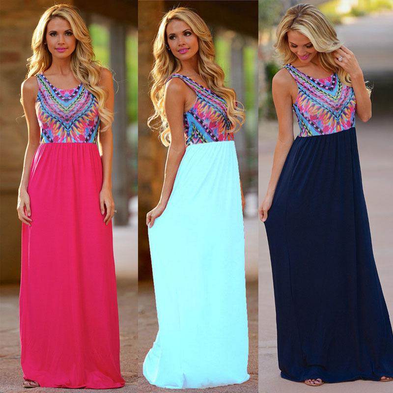 Aliexpress vestidos largos de verano
