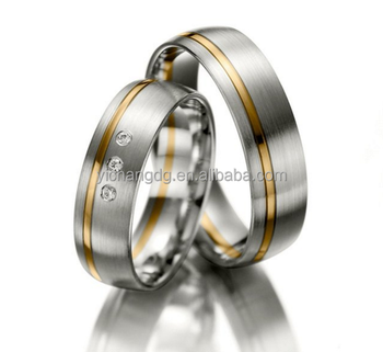two tone matching german wedding bands - German Wedding Rings