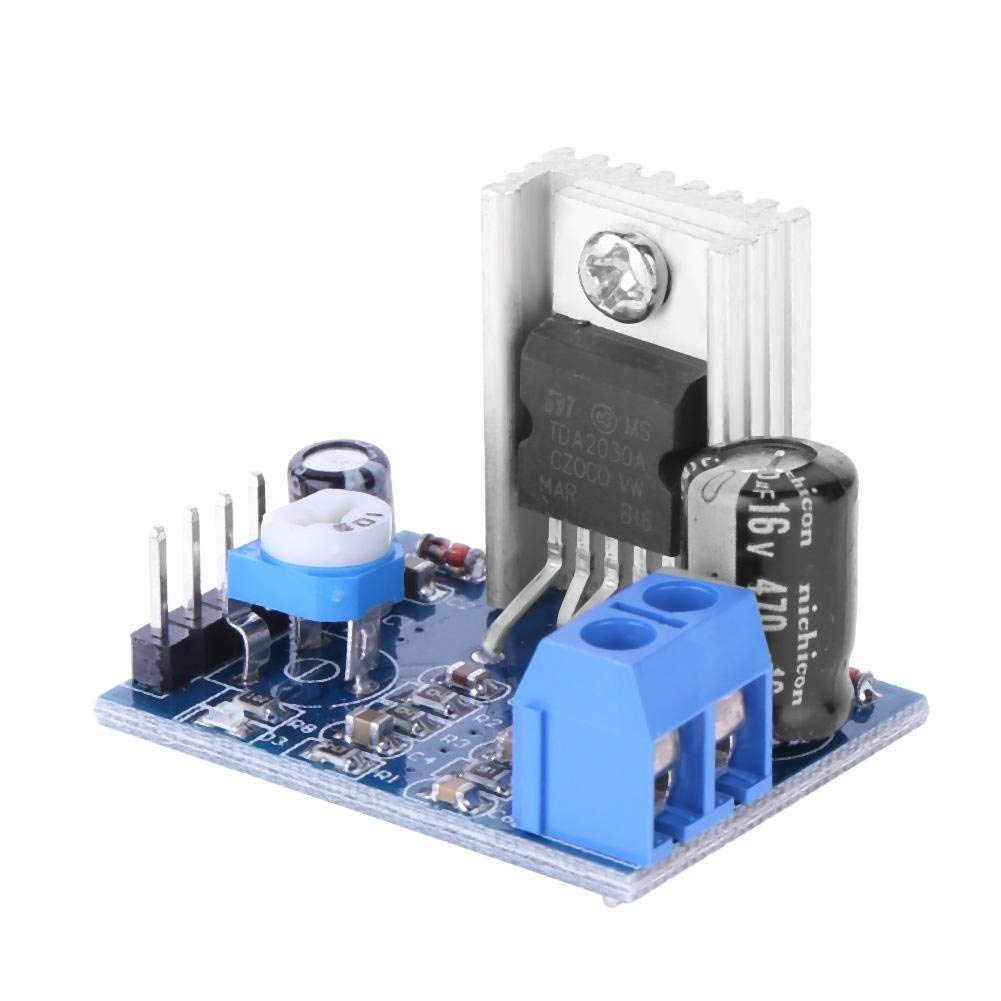 100w Btl Tda2030 Amplifier Circuit I 2018 Technology T Lm675 In Ac Current Source Application General Purpose Get Quotations Ueb Audio Board Module Tda2030a 6 12v 18w Mono Power Supply