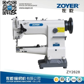 Zy40 Zoyer Cylinder Bed Unison Feed Leather Bag Sewing Machine Interesting Feed Bag Sewing Machine