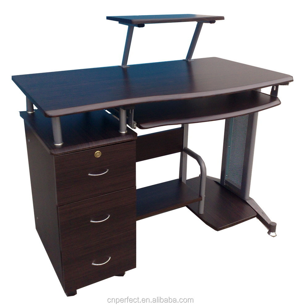 - Wooden Steel Mdf Office Big Lots Computer Desk Parts With Printer