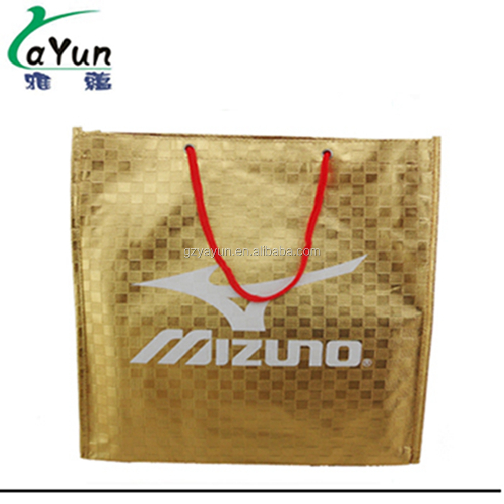 Laser Polypropylene Shopping Cheap Wicker Cheer Bags Wholesale