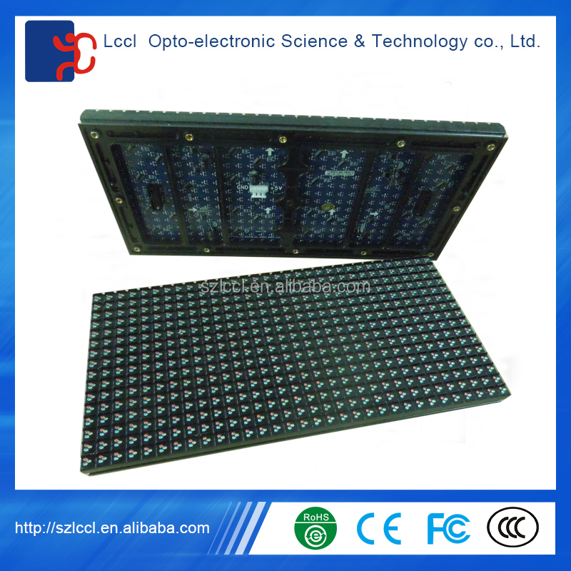 P10 led module / 320mm*160mm / Good Quality P10 DIP outdoor RGB led module