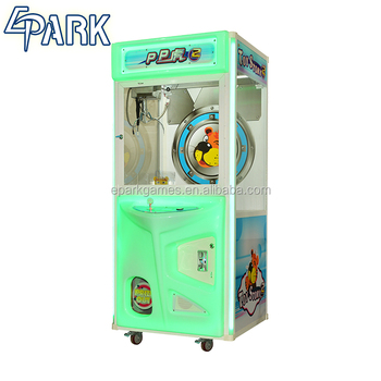 electronic coin operated PP Tiger 2 toy crane gift claw crane game machine india hot selling
