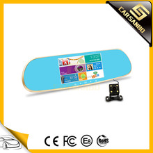 T02 GPS 1080p dual recorder rear view mirror