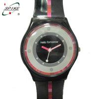 Custom gift watches for avon watch dual face