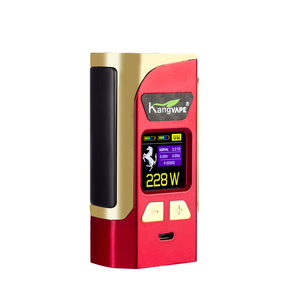 Kang Weipu SuperheroTC 228W genuine host high power steam smoke quit smoking electronic cigarette smart color screen