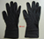 black nitrile disposable gloves
