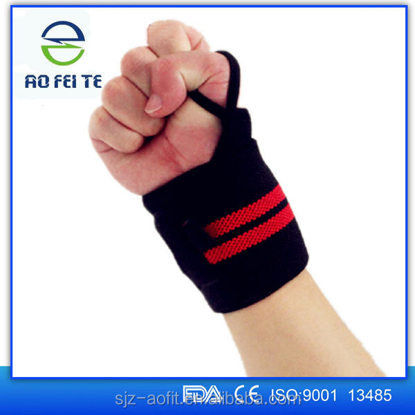magic products sport stylish wrist support with logo customized
