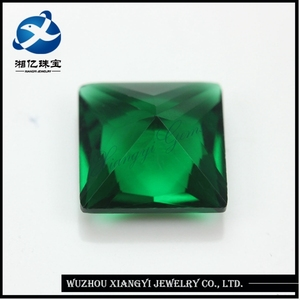 names green gemstone square princess cut crystal green sukabumi stone