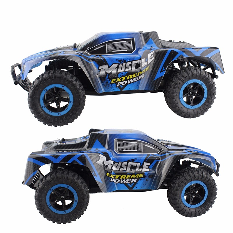 RC Cars Muscle Extreme Monster Truck 2 4G Remote Control Speed Racing Car 4  Wheel Independent Suspension Electronic Hobby Toy