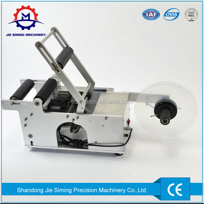 MT-50 Manual Round Bottle Labeler Machine for wine/water bottle