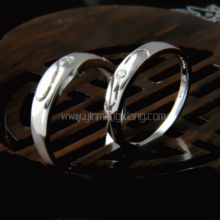 Couple 925 sterling silver ring