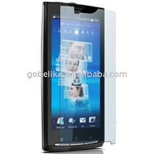 For Sony Ericsson X10 anti finger screen protector/guard/film/filter