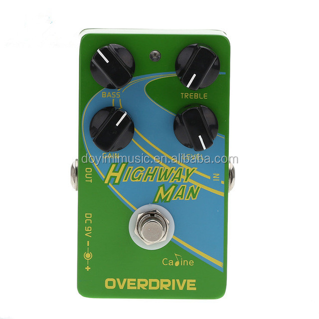 Caline CP-25 Overdrive Guitar Effect Pedal True Bypass Guitarra Effect Pedal Excellent High Quality Guitar Parts & Accessories